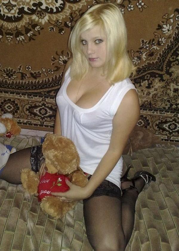 Частные Фото Голых Русских Блондинок