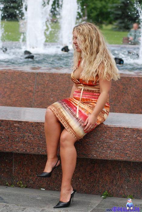 Голая Жена На Улице