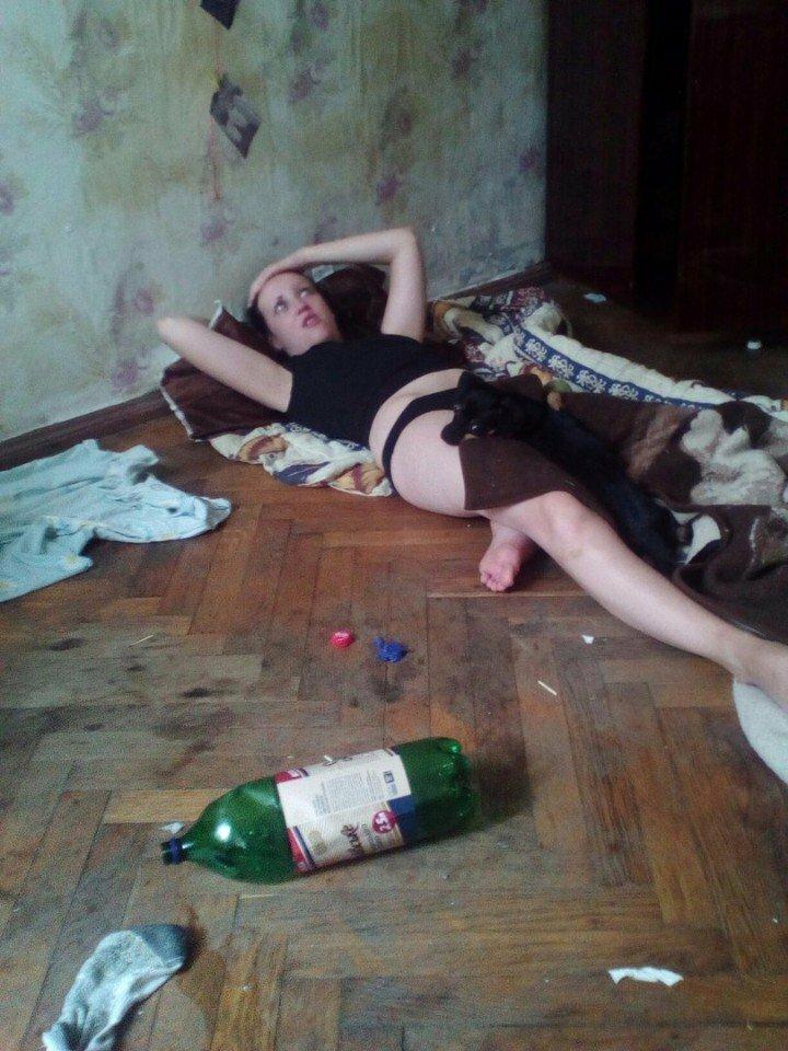 Пьяная Голая Русская Девочка