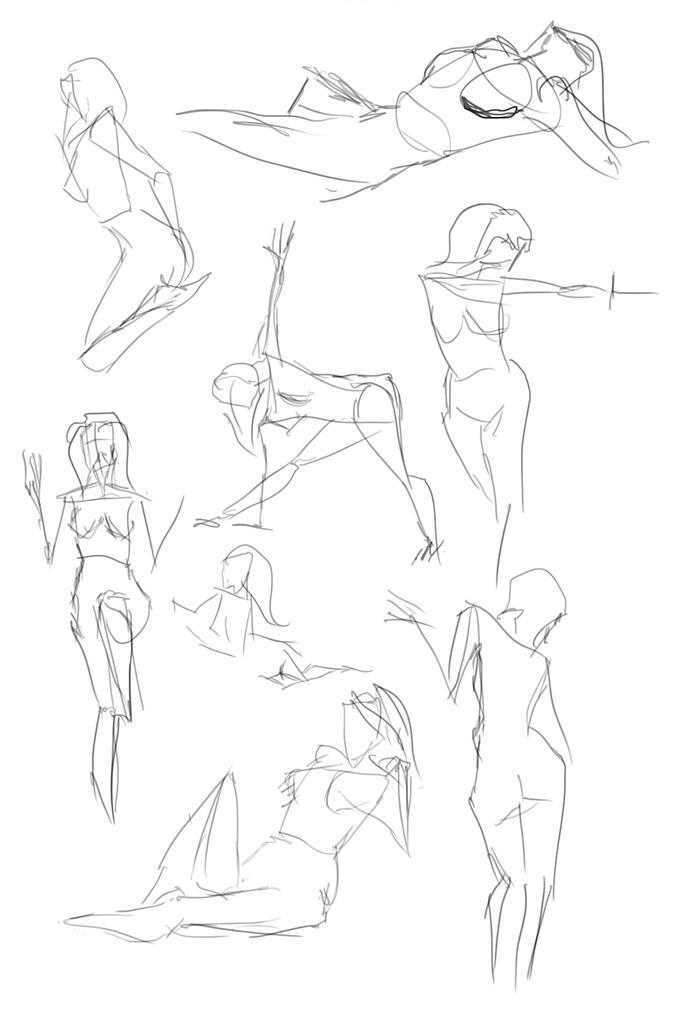 Как Нарисовать Голую Бабу