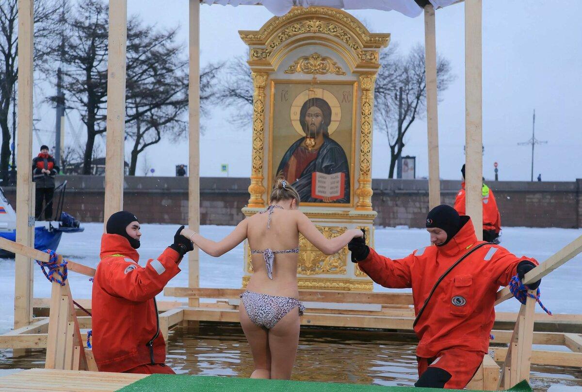 Крещенские Купания В 2020 Году Девушки Голые