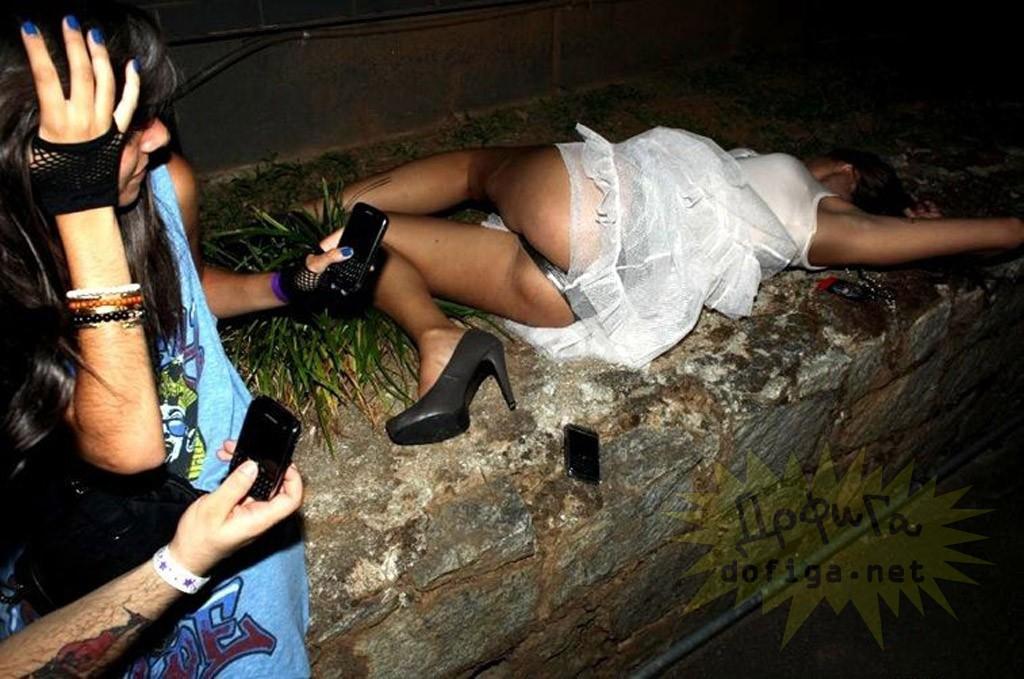 Фото Голых Пьяных