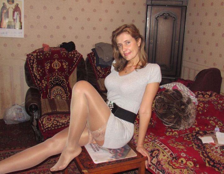 Голая Русская Жена В Чулках Фото