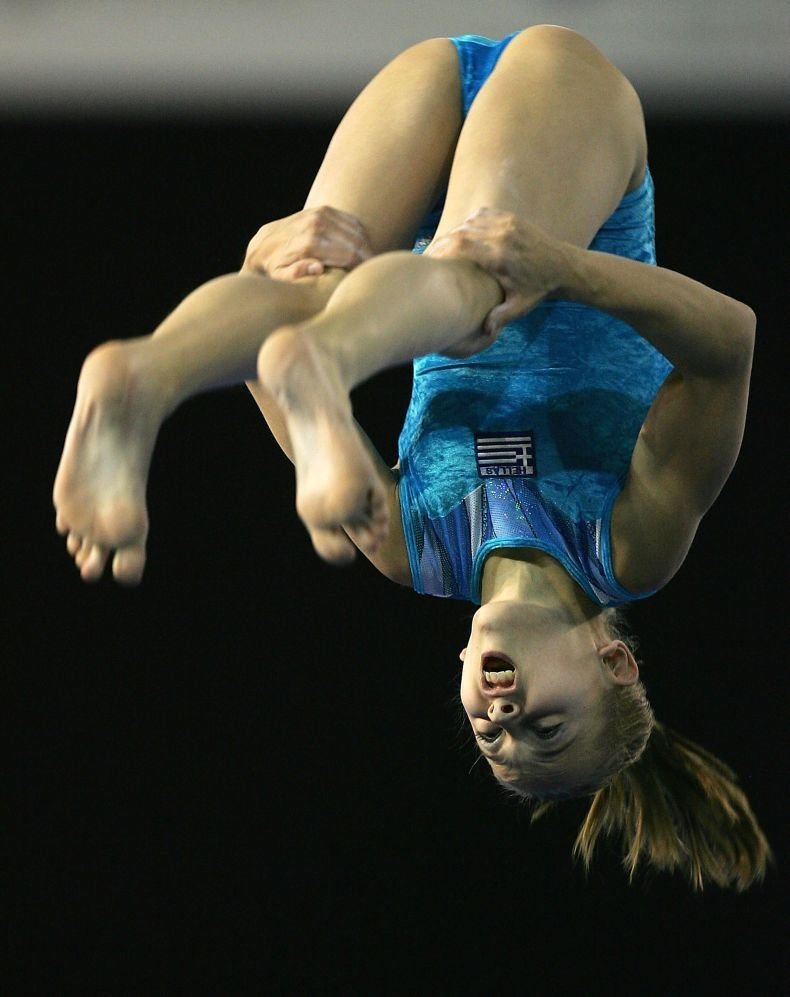 Голые Русские Гимнастки