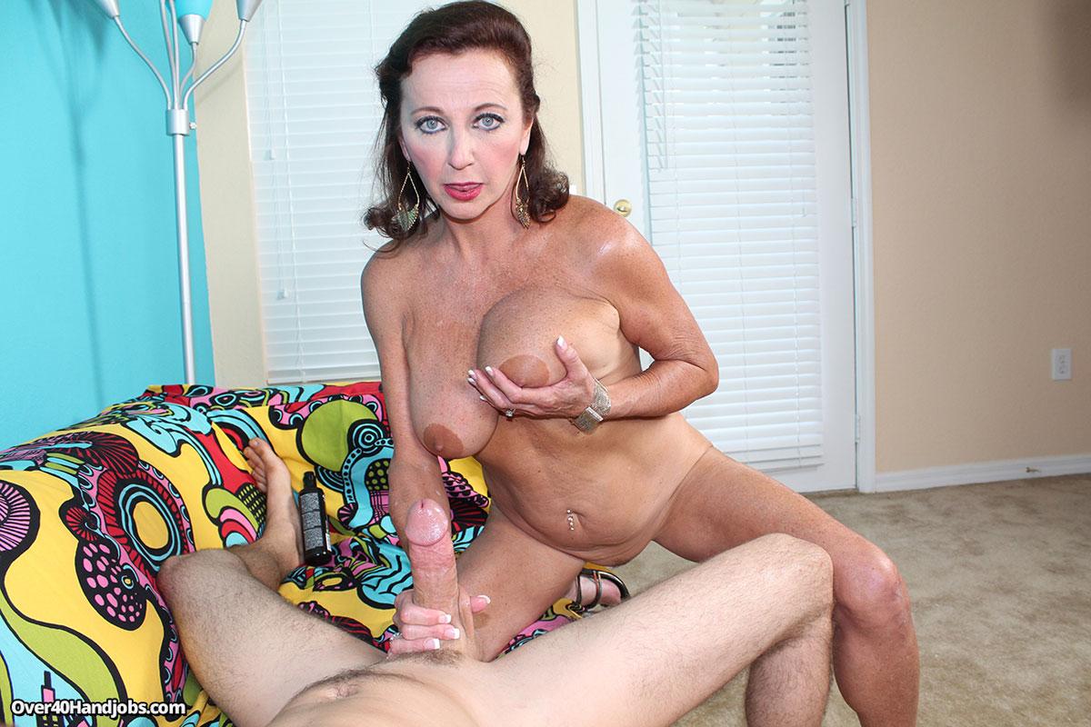 Naked Mom Handjob