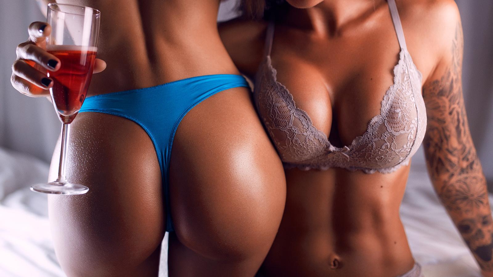 Фото Голых Девушек Двойное