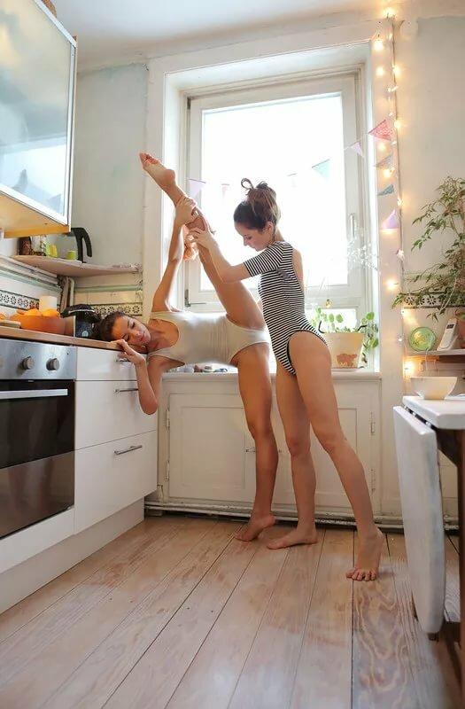 Домашнее Жена На Кухне Голая