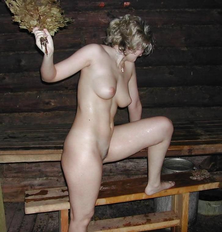 Голые Женщины В Деревенской Бане