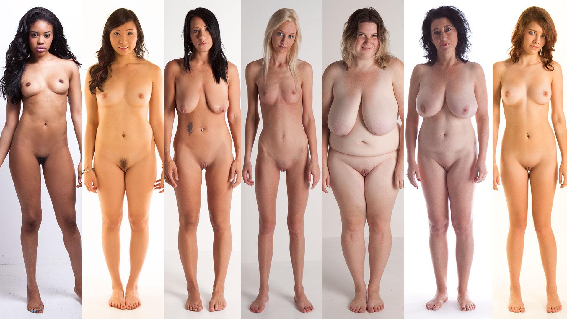 Medium Size Girls Naked