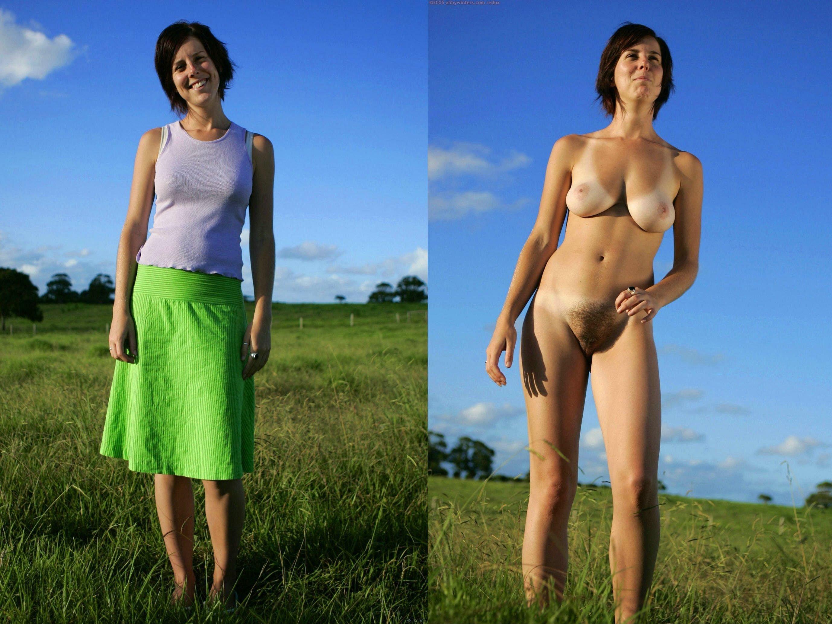 Фото Голые Одетые Жены