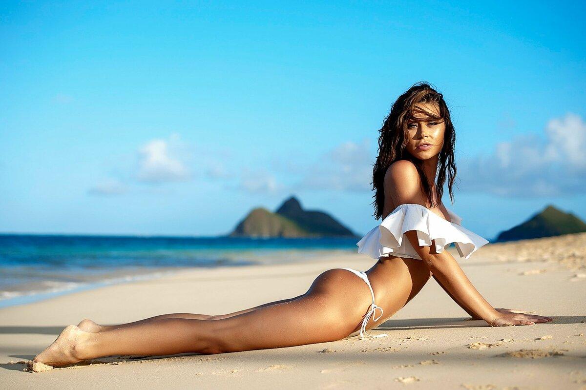 Фото Красивых Голых Девушек На Пляже