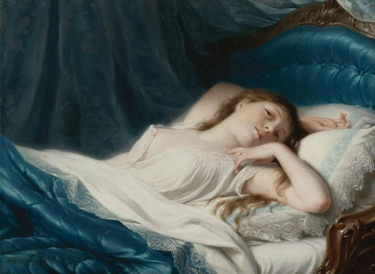 Голая Грудь Спящей