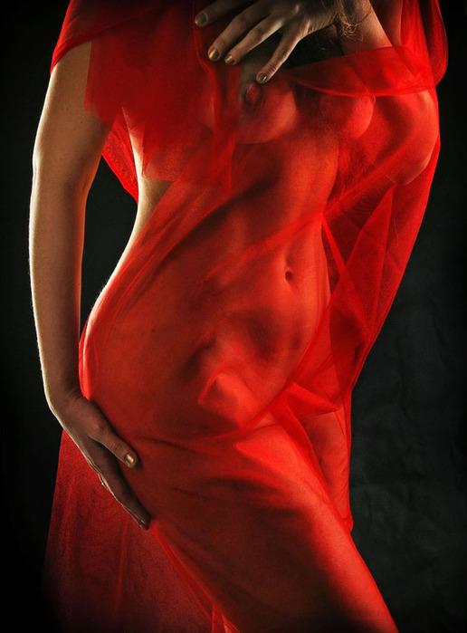 Голая Красная Женщина