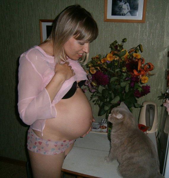 Голые Беременные Русские Жены