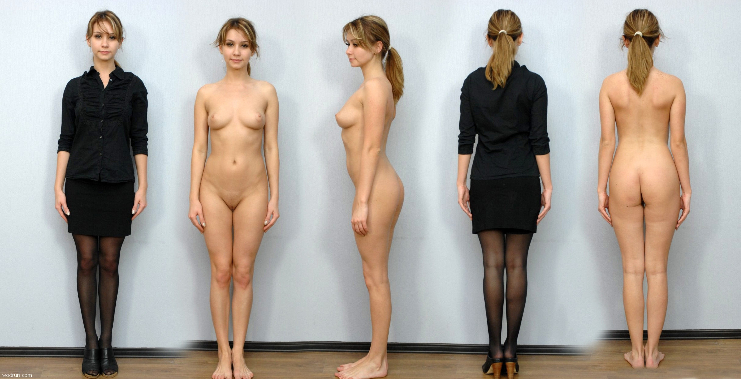 Голые Девушки Одежде Видео