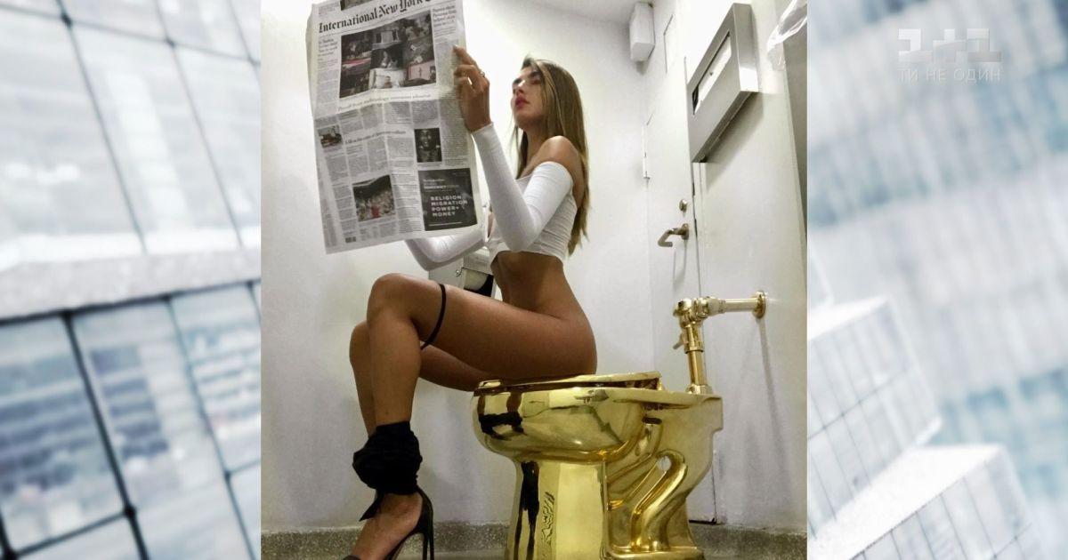 Голые В Туалете