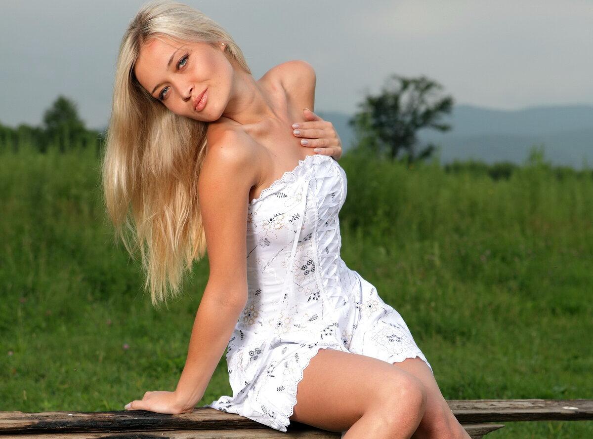 Русский Девушки Блондинки Голые